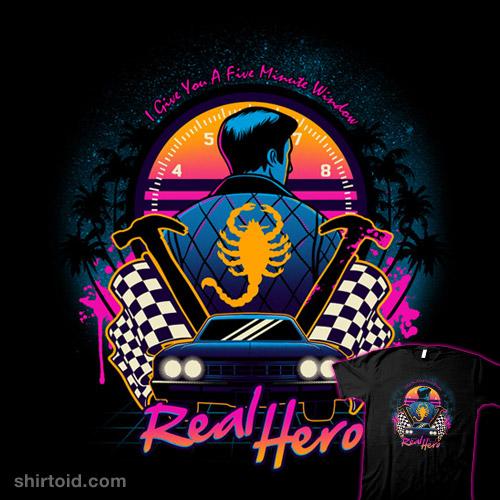 Real Hero | Shirtoid