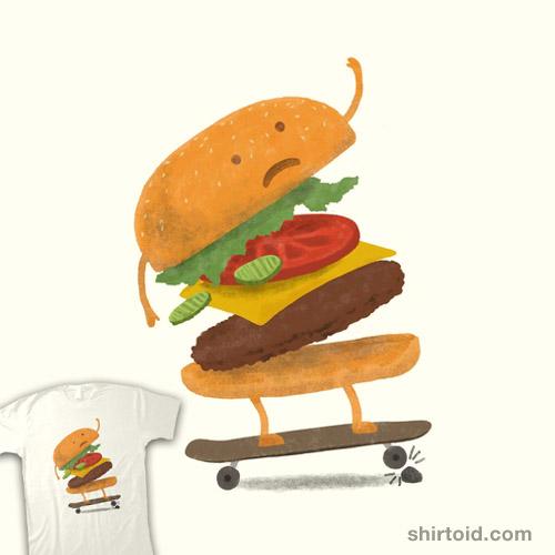 Burger Wipeout
