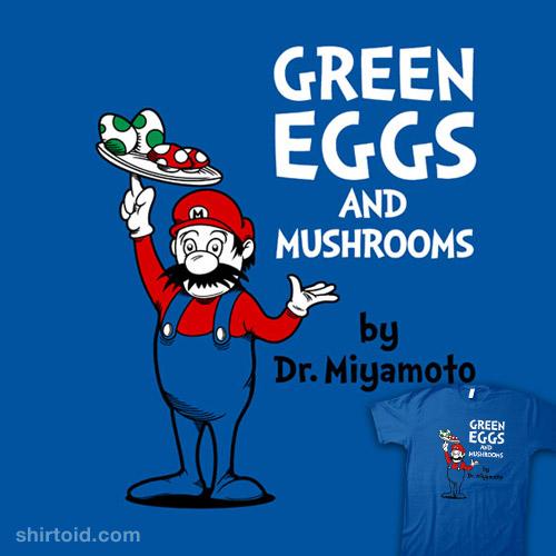 Green Eggs and Mushrooms