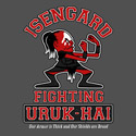 Isengard Fighting Uruk-hai