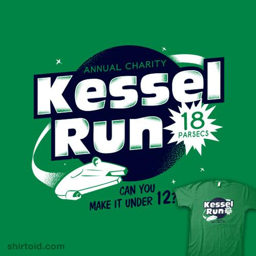Kessel Run | Shirtoid