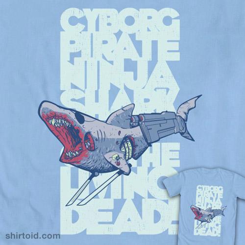 Cyborg Pirate Ninja Shark