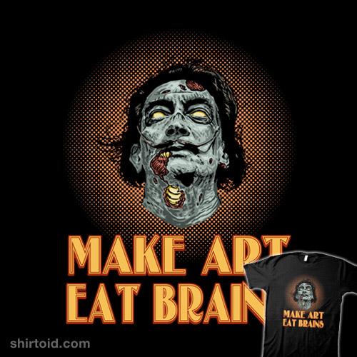 Zombie Dali Says…