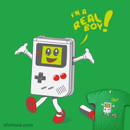 I'm a Real Boy!