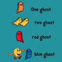 One Ghost, Two Ghost, Red Ghost, Blue Ghost