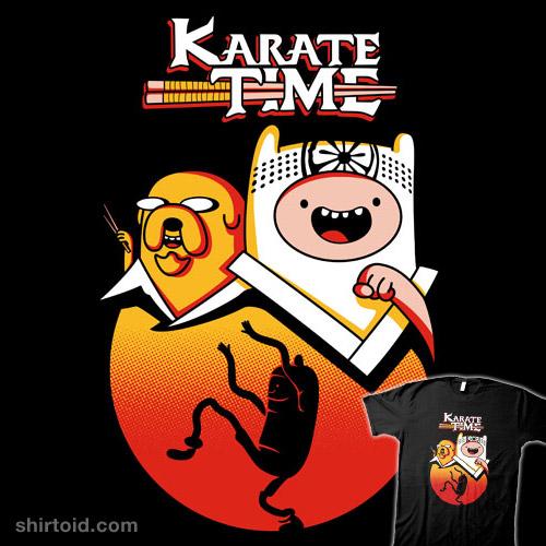 Karate Time