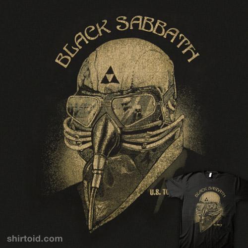 Tony Stark Black Sabbath Shirt