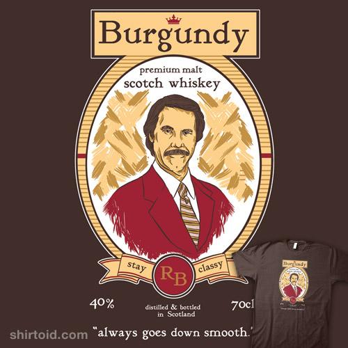 Burgundy Scotch