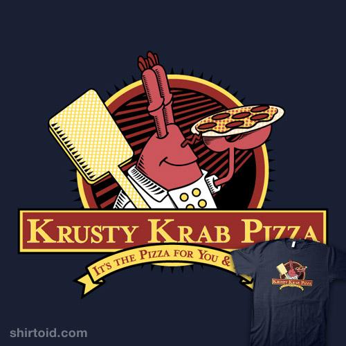 Krusty Krab Pizza