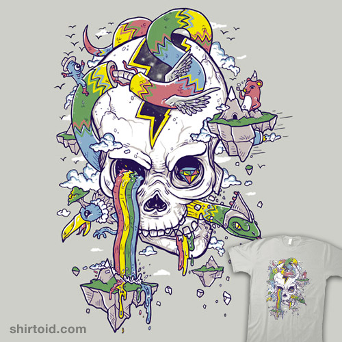 Flying Rainbow Skull Island