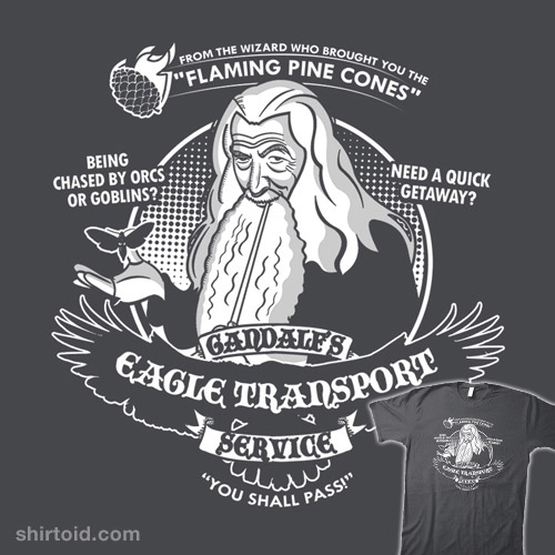 Gandalf's Eagle Transport Service