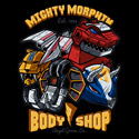 Mighty Morphin Body Shop