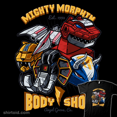 Mighty Morphin Body Shop