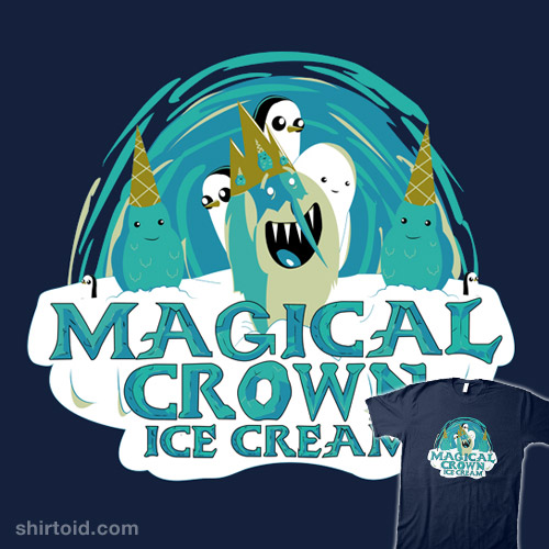 Magical Crown Ice Cream
