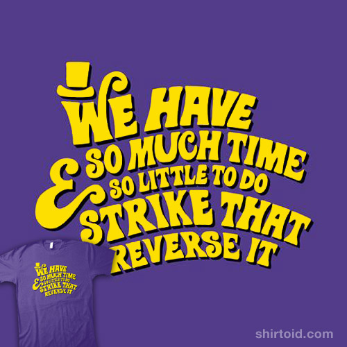 Strike That… Reverse It