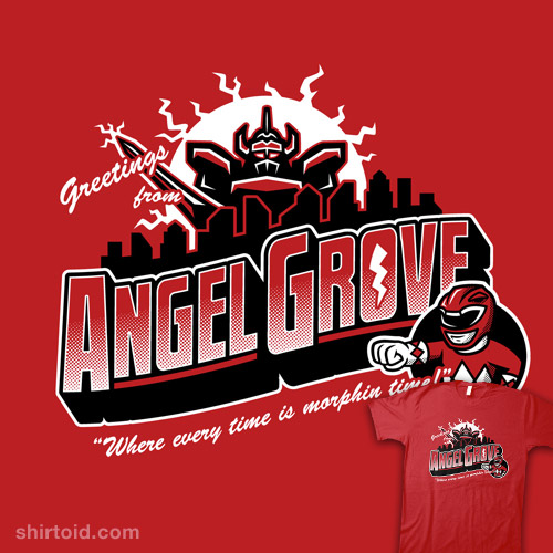 Greetings from Angel Grove