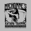 Michonne's Katana Training