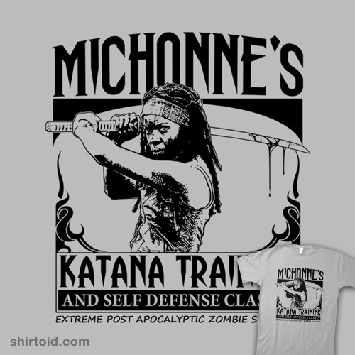 Michonne's Katana Training