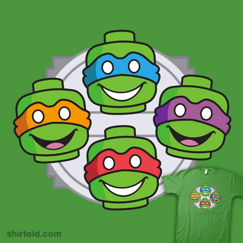 Teenage Blockhead Turtles