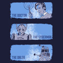The Doctor, The Cyberman, and The Dalek