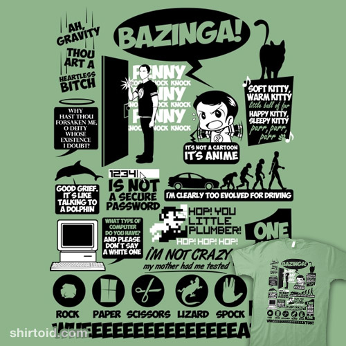 Bazinga Quotes