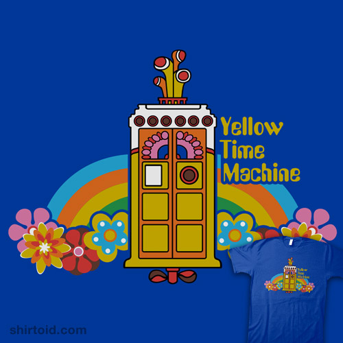 time machine yellow