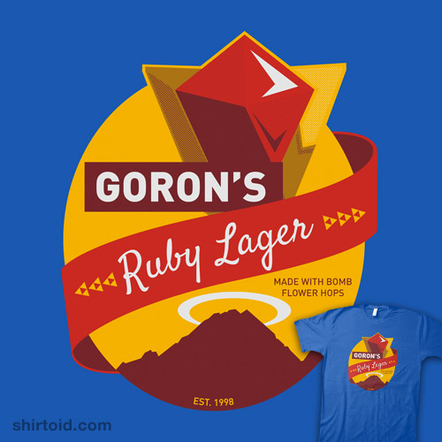 Goron's Ruby Lager