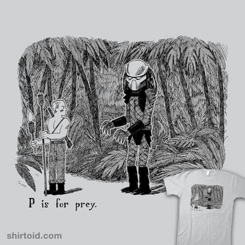 P is for Prey