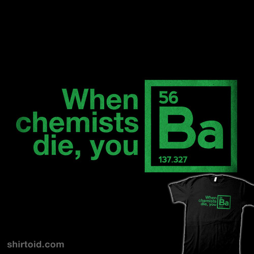 When Chemists Die