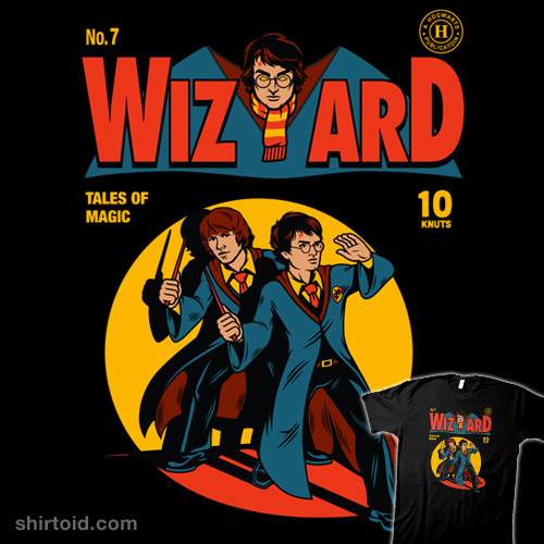 Wizard Comic