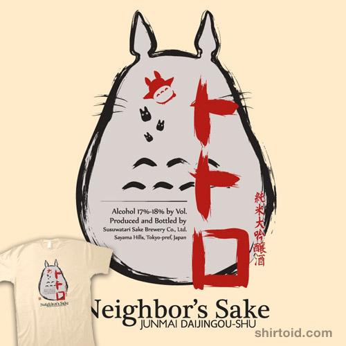 Neighbor's Sake