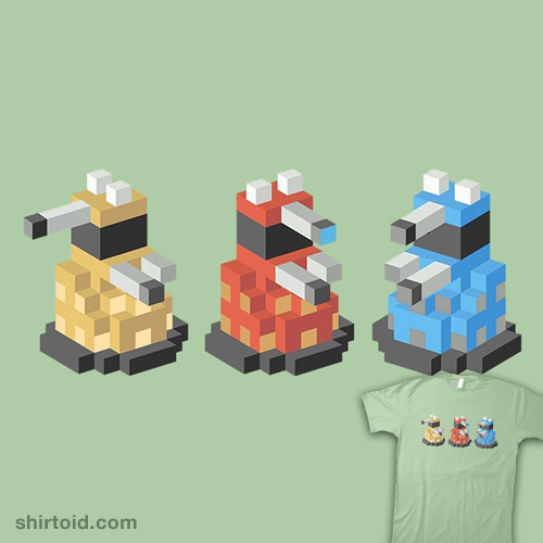 Pixelate! Triplets