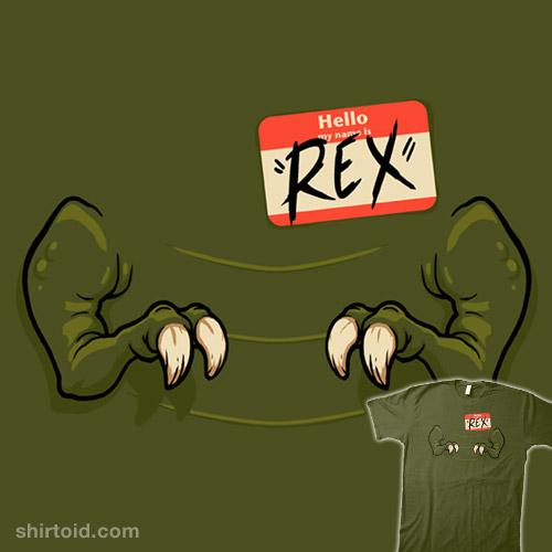 The Name's Rex