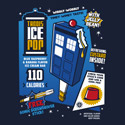 TARDIS Ice Pop