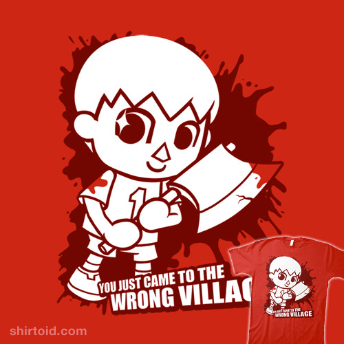 Villager Comes To Town