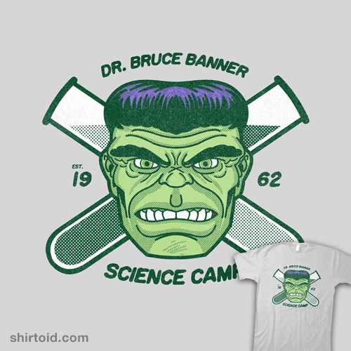 Dr. Bruce Banner Science Camp