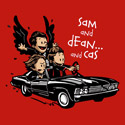 Sam and Dean...and Cas!