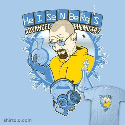 Heisenberg's Advanced Chemistry
