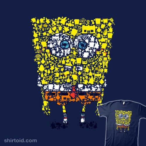 What makes a sponge so spongy?