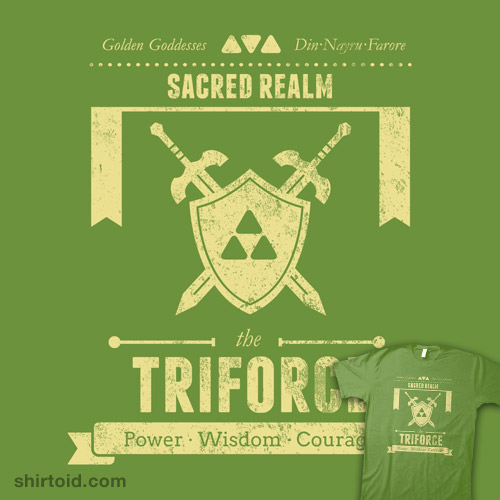 Sacred Realm's Triforce