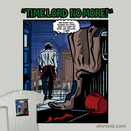 Time Lord No More