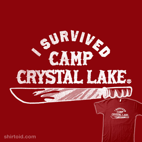 I survived Camp Crystal Lake