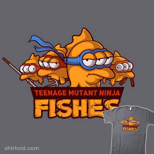 Teenage Mutant Ninja Fishes