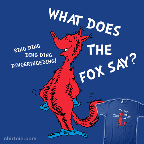 What does the fox say lyrics song - photo#28