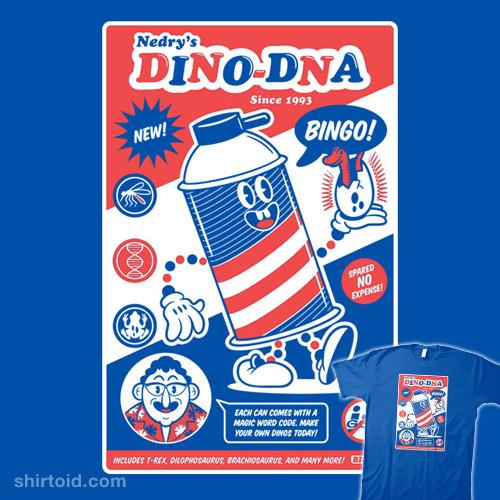 BINGO! DINO-DNA!