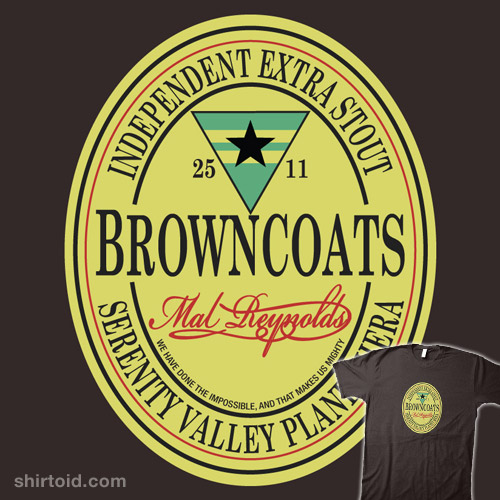Browncoats Independent Extra Stout