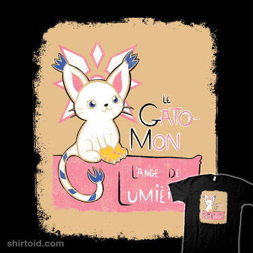 In Gatomon Lange De Lumiere Shirtoid