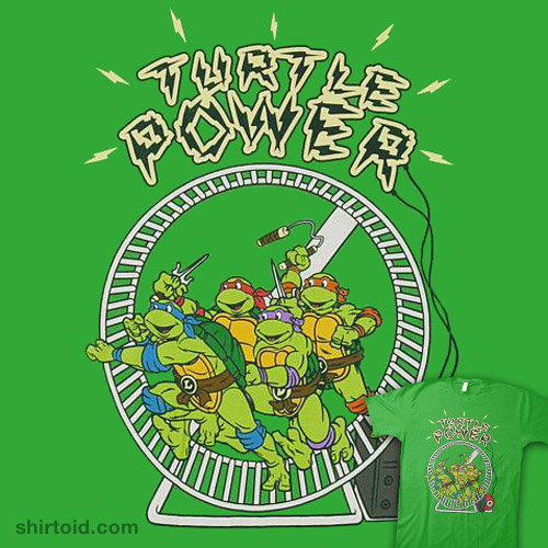 Ninja Turtle Power