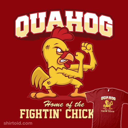 Quahog Fightin' Chicken