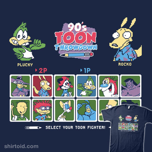 90's Toon Throwdown